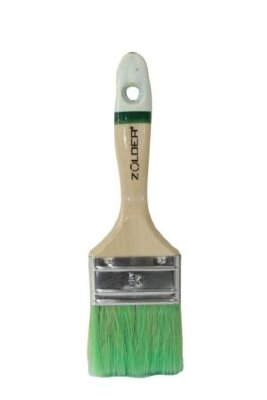 Кисть для антисептиков и лазурей плоская 50 х 14 мм, смеш.щетина, дерев.ручка Zolder Master