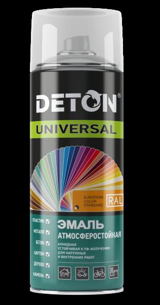 """Краска аэрозоль """"Deton UNIVERSAL"""" универсальная алкидная атмосферостойкая"""