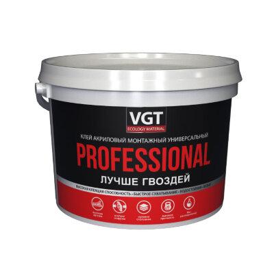 Клей акриловый монтажный универсальный белый PROFESSIONAL  VGT
