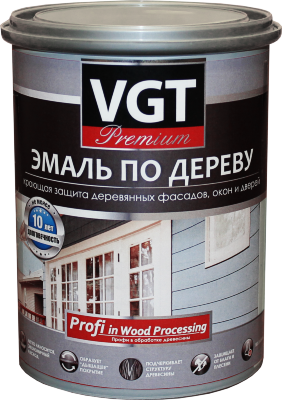 """Эмаль по дереву """"Профи"""" с шелковистым блеском VGT"""