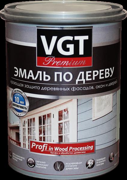 Эмаль по дереву без запаха акриловая быстросохнущая VGT