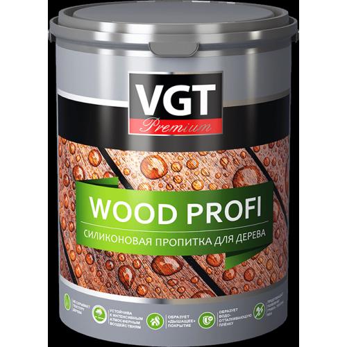 Силиконовая пропитка для дерева бесцветная без запаха WOOD PROFI VGT