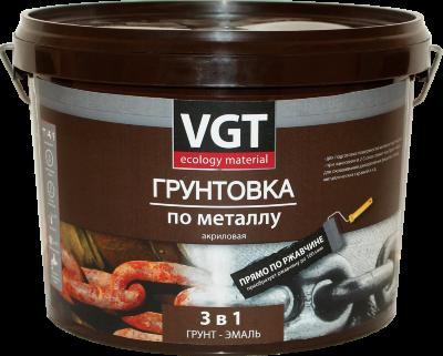 Грунтовка акриловая по металлу черная   VGT