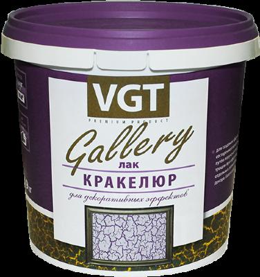 Лак кракелюр GALLERY для декоративных эффектов VGT