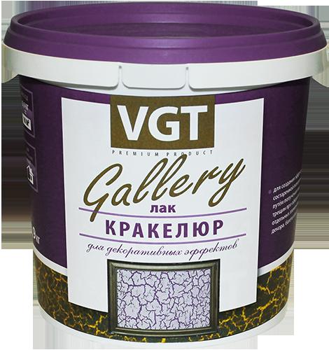 Лак кракелюр GALLERY для эффектов микротрещин VGT