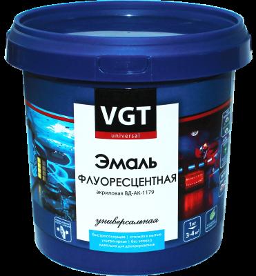 Эмаль универсальная флуоресцентная VGT