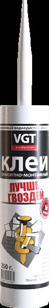 Клей ремонтно-монтажный прозрачный   ВГТ