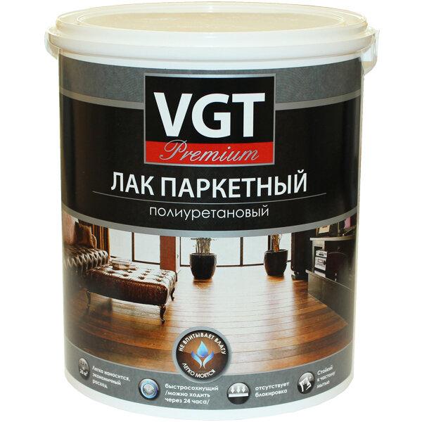 """Лак паркетный """"PREMIUM"""" полиуретановый VGT"""