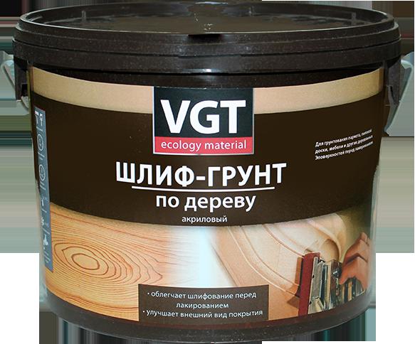 Шлиф-грунт по дереву VGT