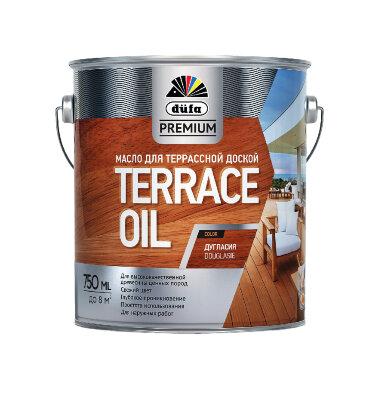 """Масло ТERRACE OIL для террасной доски цветное  """"DufaPremium"""" Германия"""