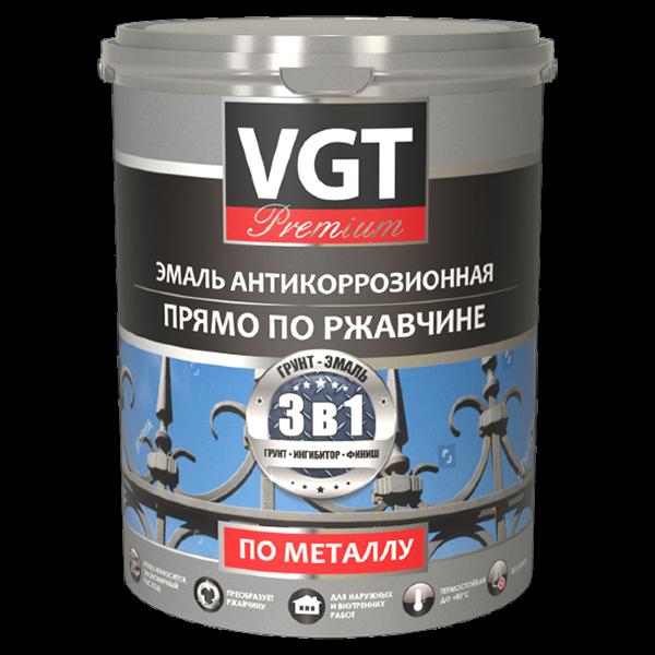 Эмаль акриловая «Профи» антикоррозионная 3 в 1 с цинком ВГТ