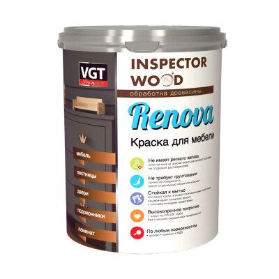 Краска для мебели и ламината полиуретановая RENOVA VGT